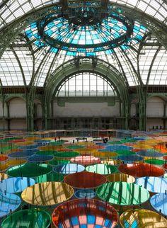 Daniel Buren, Installation Monumenta Paris 2012