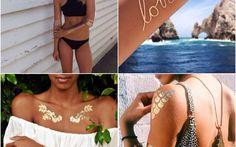 Belli come bijoux i nuovi tatuaggi temporanei. Facili d'applicare e di grande effetto!