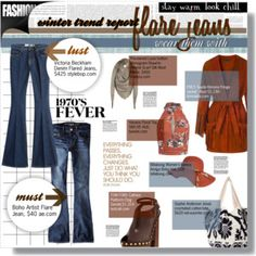 ::what's hot: flare jeans::