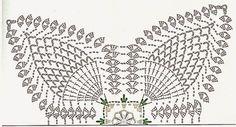 How to make a centerpiece of Crochet flowers Graphic Crochet Motif Patterns, Crochet Diagram, Crochet Stitches, Crochet Curtains, Crochet Doilies, Crochet Flowers, Crochet Table Runner, Table Runner Pattern, Confection Au Crochet