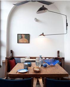Breakfast table | Vintage eclectic