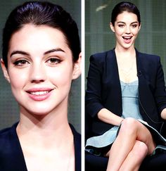 Adelaide Kane, brilliant actress, beautiful woman and advocate for abolishing mental health stigmas. New role model guys. Just love her to death.
