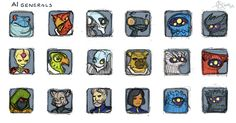 Master of Orion 1 character portraits