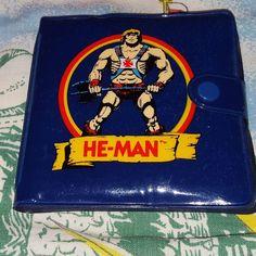 My vintage #heman wallet. #mastersoftheuniverse by tamiya_frog