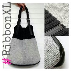 Фотография: This is what we call perfection! Trendy XL RibbonXL bag made by Iza. Check out the classy finishing touches. We say, you go girl! #RibbonXL #recycle #XLbag