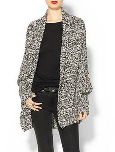 Hive & Honey Marled Cacoon Cardigan | Piperlime
