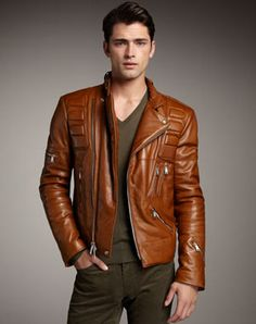 Brown Leather Jacket Or Black 8rTEYB