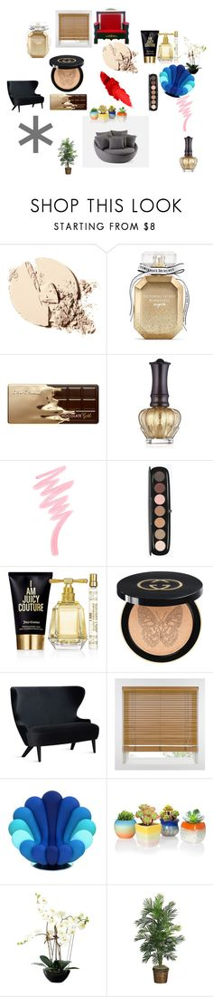 """""""Radio"""" by specvozmoznosti on Polyvore featuring Victoria's Secret, Too Faced Cosmetics, Anna Sui, Marc Jacobs, Juicy Couture, Gucci и Tom Dixon"""