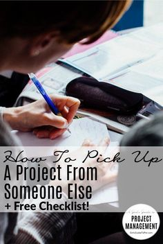 Tips for Picking Up a Project from Someone Else Pin It