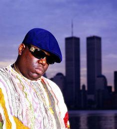 Chi Modu Biggie WTC NYC 1996. Image courtesy of the artist. #biggiesmalls #biggie #smalls #photography