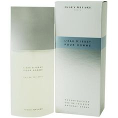 Buy L'Eau d'issei for Men Eau De Toilette Spray 4.2 oz by Issey Miyake - a light and refreshing fragrance for men. 100% authentic. A great gift for men.