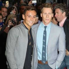 Tom Daley And His Boyfriend Are Engaged! For more ideas, click the picture or visit www.sofeminine.co.uk