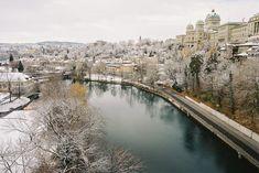 White Winter Holiday in Bern, Switzerland
