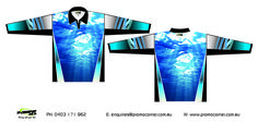 'Off Shore' Sublimated fishing shirts. The most comfortable fishing shirt you will ever wear!