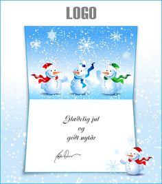ekortet.dk leverer danmarks flotteste elektroniske julekort til virksomheder. På billedet: Julekort med logo. Snemænd. Stjernehimmel.Ekort, e-kort, e-julekort, ejulekort, elektroniske julekort, ecard, e-card, firmajulekort, firma julekort, erhvervsjulekort, julekort til erhverv, julekort med logo, velgørenhedsjulekort, julekort