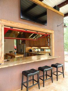 Outdoor Indoor Bar Window
