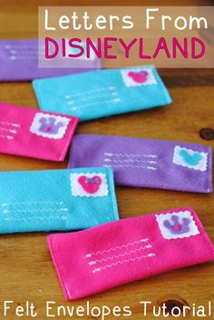 Reusable Envelope Tutorial For Letters From Disneyland   Get Away Today Vacations - Official Site