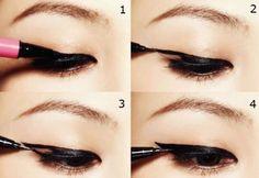 Como Maquillarse Los Ojos Con Delineador
