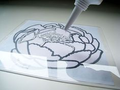 Make your own stamps with silicon