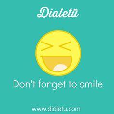Happy World #Smile day! :D - Feliz dia Mundial do #Sorriso! :D