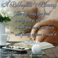 Kate Carlisle FB page