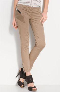 Pierre Balmain Stretch Cotton Pants