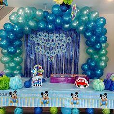 And the full decoration! First Birthday Moments!😊🎊🎉  .  .  .  .  #custombanner #birthdaybanner #balloons #birthdaygarland #garlands #flowers #birthdayprops #bdayprops #decorprops #birthdaycelebrations #bluetheme #shadesofblue #partydecor #EventOCrafts #eventdecor #birthday #themedecors #themeparty #props #birthdayTheme #birthdayparty #firstbirthday #decorations #eventplanning #handmade #decorideas #creativestuff #eventplanner #decor #MakeItWithMichaels 😊    Make your events merrier with…