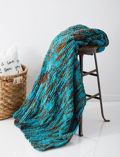 Yarnspirations.com - Bernat Big Basketweave Blanket  | Yarnspirations