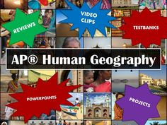 This Pinboard is for all of you AP Human Geography teachers out there. Find all of the resources you need to teach Geography: Its Nature and Perspectives, Population, Cultural Patterns and Processes, Political Organization of Space, Agriculture and Rural Land Use, Industrialization and Economic Development, and Cities and Urban Land Use.