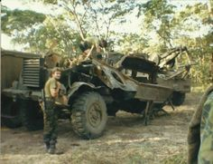 Casspir hit by RPG which were loaded with C4,grenades and ammo between Cassinga and Jamba