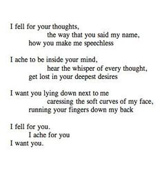 Poetry is my weakness