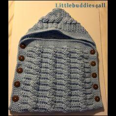 Crochet newborn cocoon set Littlebuddies4all