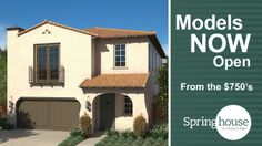 Spring House by taylor morrison is located in Irvine. Priced from the mid to high $700,000's. Detached homes ranging in size from 2,161 to 2,348 square feet. Temporarily sold out at time of this posting, December 27, 2013