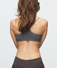 Lower back   By toning the muscles in your back, you can relieve and prevent pain.