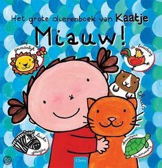 Miauw! Het grote dierenboek van Kaatje Dutch Language, Smurfs, Snoopy, Comics, Fictional Characters, Drawing, Ideas, Products, Children's Literature