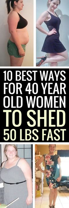 10 best weight loss tips for women in their forties.