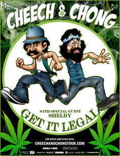 "Cartoons Smoking Weed | Actor-comedians Richard ""Cheech"" Marin and Tommy Chong will kick off ..."