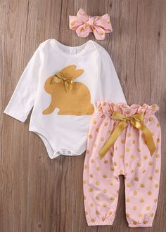 Cheap clothes newborn, Buy Quality newborn baby girl directly from China baby girl Suppliers: Holiday Clothes Newborn Baby Girls Headband+Romper+Pants Trousers Outfits Clothes Set Newborn Baby Girl Headbands, Baby Outfits Newborn, Toddler Outfits, Kids Outfits, Headband Baby, Baby Newborn, Knot Headband, Fall Outfits, Organic Baby Clothes