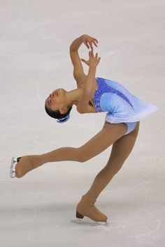 Caroline Zhang - Cup Of China Blue Figure Skating / Ice Skating dress inspiration for Sk8 Gr8 Designs