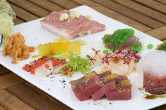 molecular gastronomy sushi plate