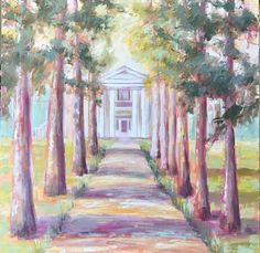 This is an original inch oil painting on canvas. The scene is from William Faulkner's home Rowan Oak in Oxford, MS. 36 x 36 This item is sold out, but there are prints available here. Pablo Picasso, Rowan, Oil Painting On Canvas, Painting Inspiration, William Faulkner, Scene, Artist, Prints, Ms