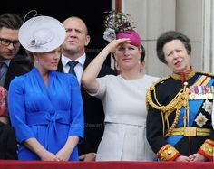 Mark Stewart | Extended Royal Family mark the Queen's Official...
