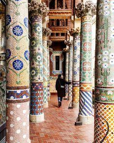 Palau de la Música Catalana     Barcelona 549bbd6338