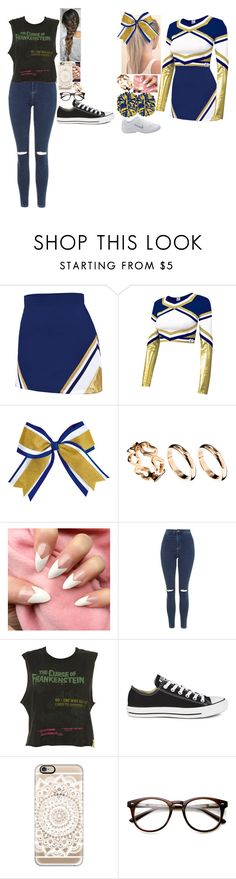 """Untitled #582"" by lifeasgege ❤ liked on Polyvore featuring Chassè, ASOS, Topshop, Converse and Casetify"