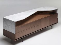 Walnut sideboard BRIGHT - ENNE