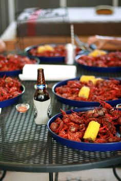 Ab Chao's Easter crawfish boil!