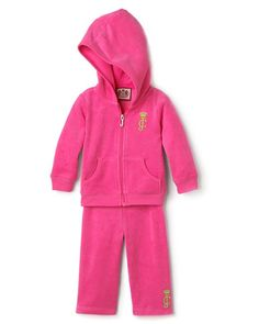 6befccd3a4d Juicy Couture Raspberry Terry Track Suit-juicy couture