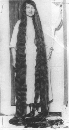 Now, this is long hair.