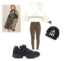 """🐊"" by ranbe on Polyvore featuring Mode, Puma, Reebok, Rothco und adidas"
