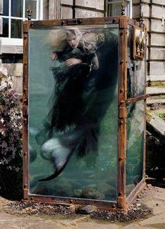 Fashion is Art?...Kristen McMenamy by Tim Walker.